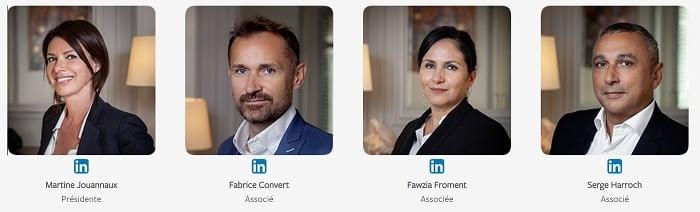 Des profils experts et complémentaires issus des milieux de la finance et de l'immobilier