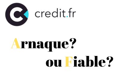 Credit.fr est t'elle une plateforme fiable?