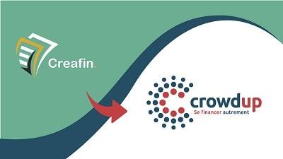 CREAFIN devient CROWDUP : Nouveau positionnement et Assurance Emprunteur