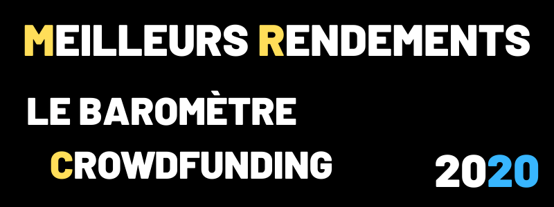 Classement des meilleurs rendements Crowdfunding 2020