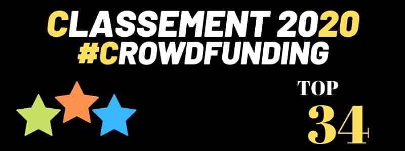 Classement des meilleures plateformes de CrowdFunding 2020
