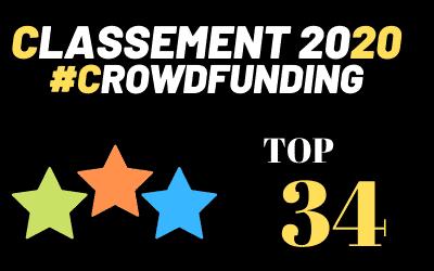 Comparatif 34 sites de CrowdFunding 2020 – Top 34