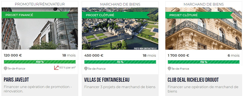 Clubfunding - Projets Immobiliers