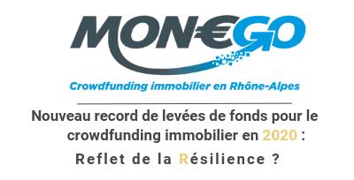 Nouveau record de levées de fonds pour le crowdfunding immobilier en 2020 : Le reflet de la résilience du secteur ?