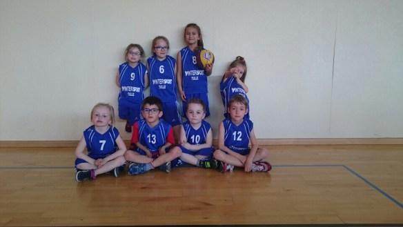 L'équipe des Babys Basket