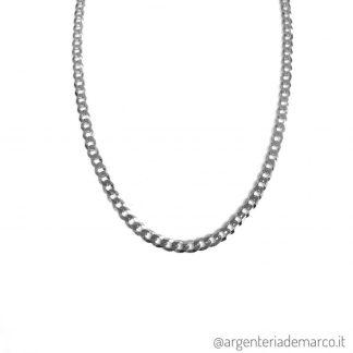 Collana Grumetta in Argento da 3.4mm