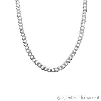 Collana Grumetta in Argento da 5.4mm