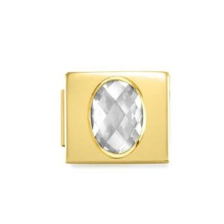 NominatioN Composable Glam Zircone Bianco