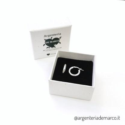 cerchietto argento 3x16mm