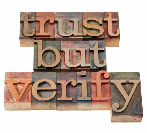 Replace financial cynicism with careful trust
