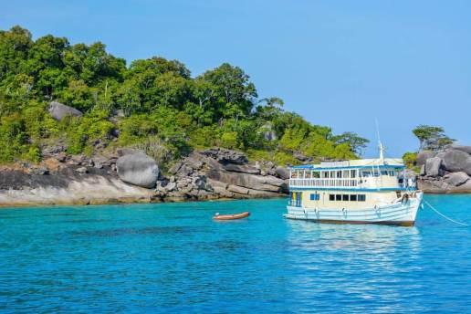 Playas de Tailandia Islas Similan