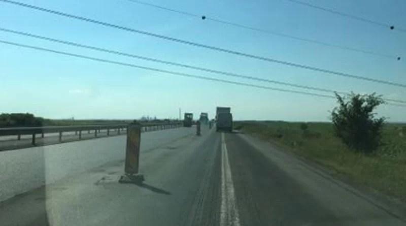 Circulaţia este restricţionată pe A1 Bucureşti – Piteşti