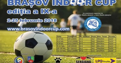 Juniorii de la CS Mioveni – la cel mai mare turneu de fotbal în sală din țară