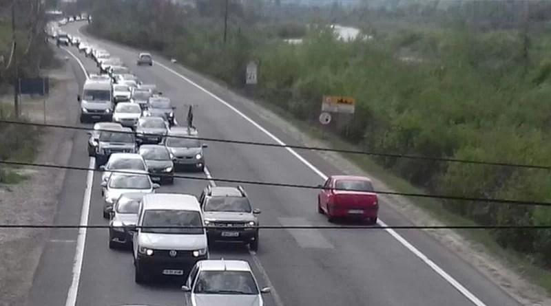 Atenție, șoferi! Valori de trafic ridicate pe un drum național important