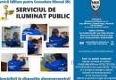 Serviciul de Iluminat Public – Specialiști la dispoziția dumneavoastră!