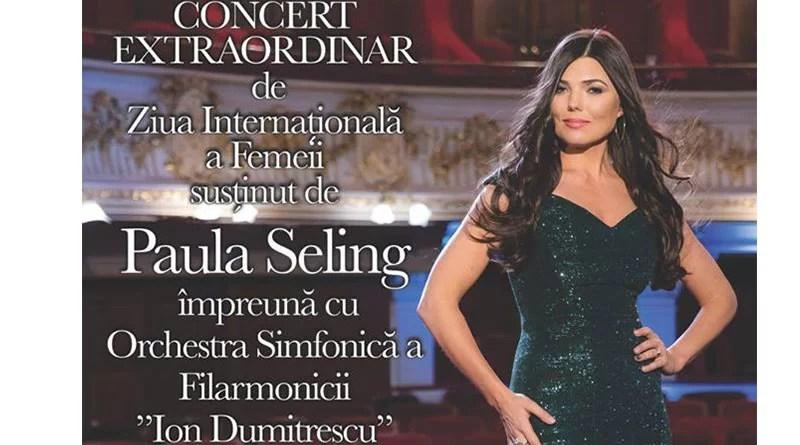 Paula Seling, concert extraordinar în Mioveni
