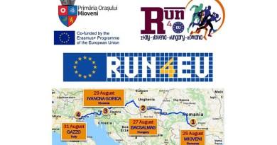 Pe 25 august, începe maratonul transnațional run4eu!