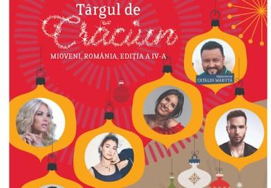 Astă-seară: Distracția continuă la Târgul de Crăciun de la Mioveni