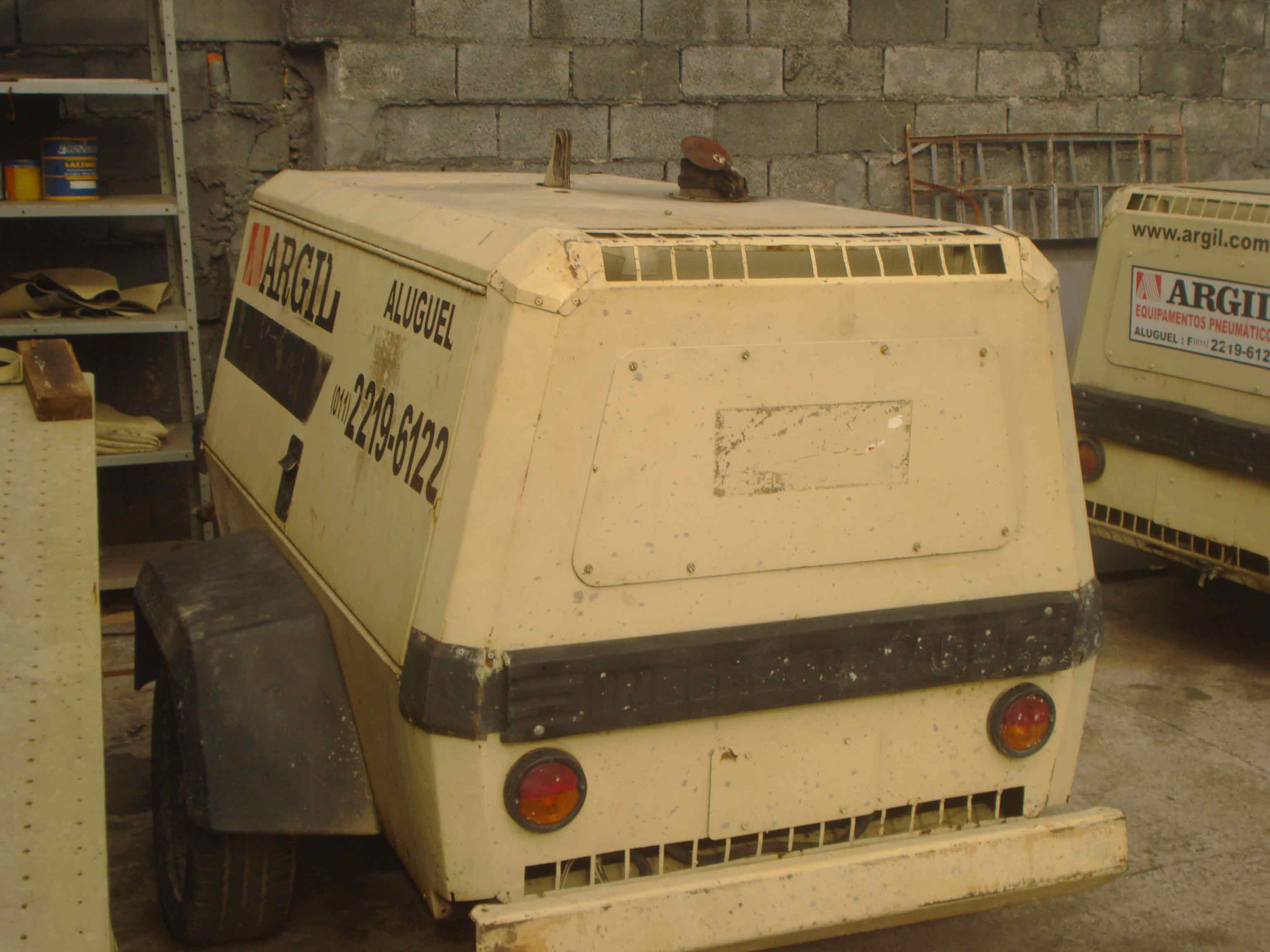 Compressor a Diesel 185 PCM