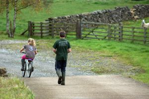 Argill Caravan Park Cumbria walking and cycling