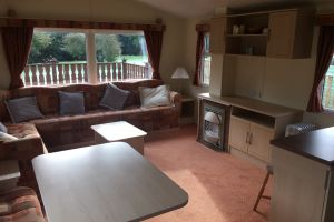 Argill Caravan Park Cumbria living room