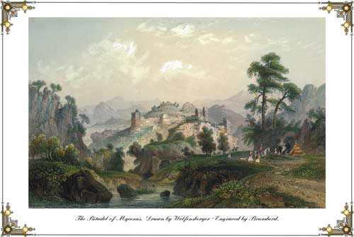 The Citadel of Mycenas. The Citadel of Mycenas.