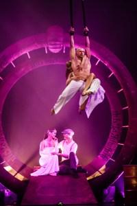 Acrobats on Aerial Straps - Argolla Show