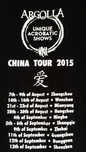 Acrobatic Show - China Tour - Argolla 5th Element