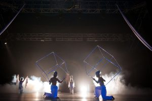 Cube Juggling Act - Acrobatic Show - Argolla
