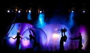 Dancer in Mystic Transparent Ball - Argolla Show