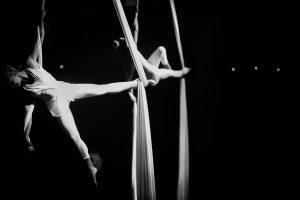 Aerial Silk Act - Corporate Entertainment - Argolla Silk Show