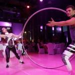 Cyr Wheel artists - Argolla dancers - corporate event Kia