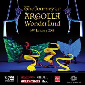 Acrobatic show for kids and families - The Journey to Argolla Wonderland