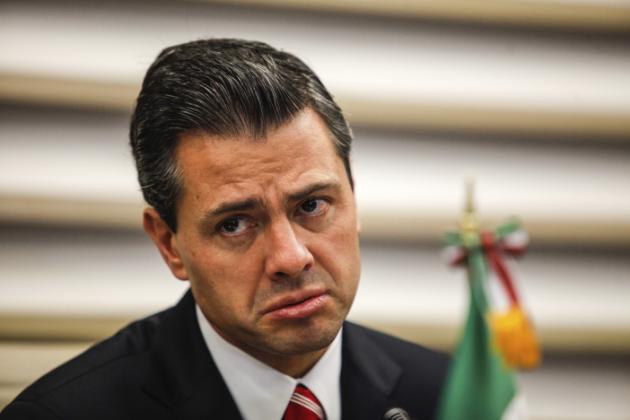 Enrique Peña Nieto Visits Sao Paulo