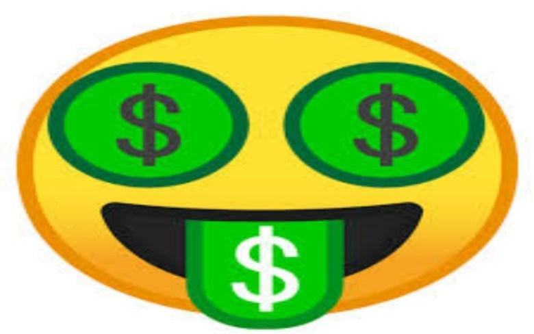 emoticon dinero