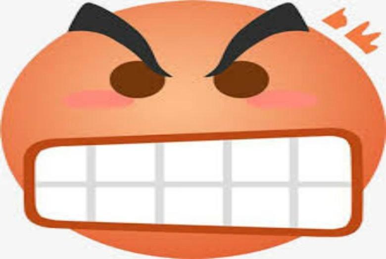 emoticon enojado