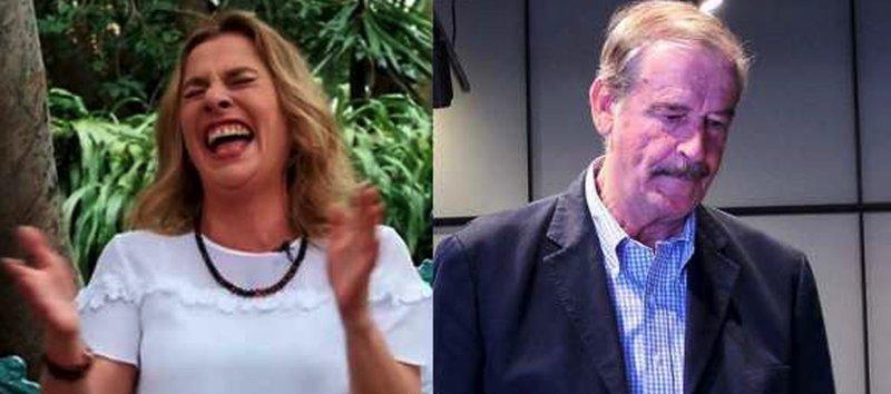 Esposa de AMLO ponen en su lugar a Vicente Fox, tras insultar a los mexicanos.