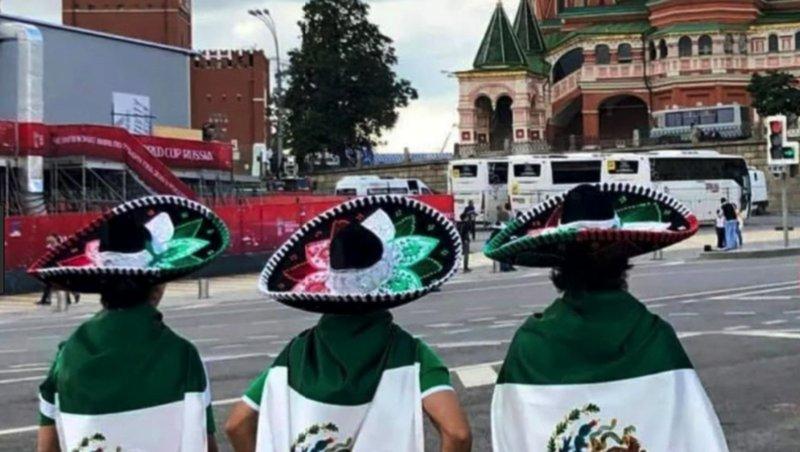 Por robar, detienen a 3 mexicanos en Rusia.