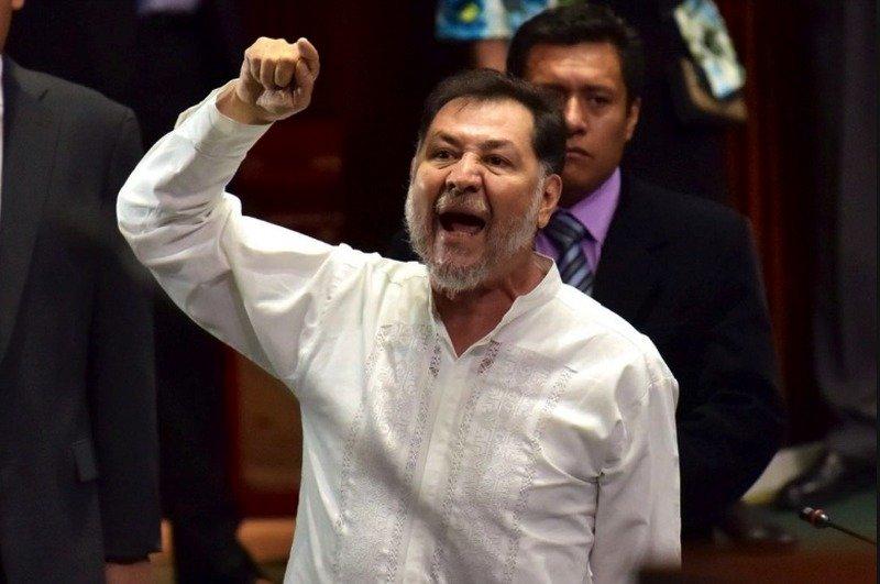 En 2 meses, AMLO ha hecho más que tú: Noroña tunde a Vicente Fox