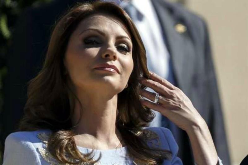 """Reaparece """"La Gaviota"""" en Miami y anuncia su regreso a las telenovelas."""