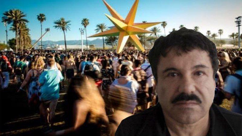 """Circula foto de """"El Chapo"""" Guzmán y asistentes al festival de Coachella se toman fotos con él"""