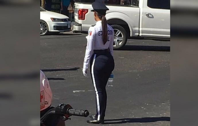 Conoce a la policía víal mexicana más linda del mundo