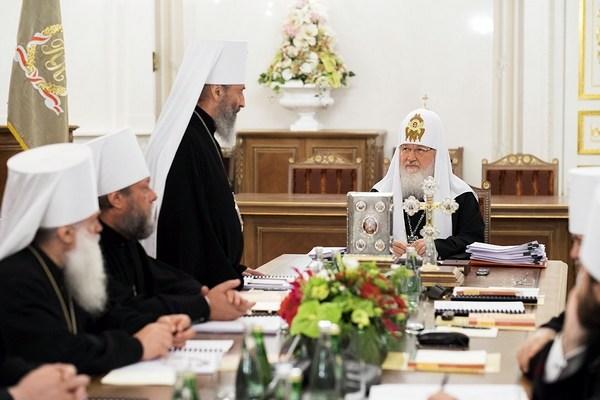 Заседание Священного Синода Русской Православной Церкви, 30 мая 2014 (фото: hilarion.ru)