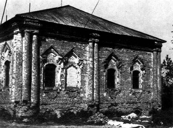 «Палаты Мазепы» в селе Ивановское на Курщине, 1704 г.