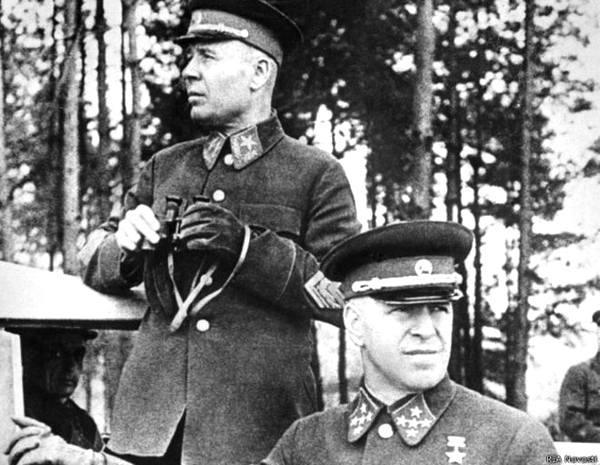 Фото:    Семен Тимошенко и Георгий Жуков знали все, но унесли тайны в могилу. Фо