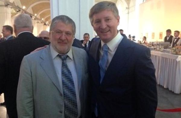 Фото:  Ахметов и Коломойский