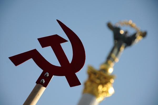 Фото:  Як депутати президентського блоку в Київраді захищають імперські та радян