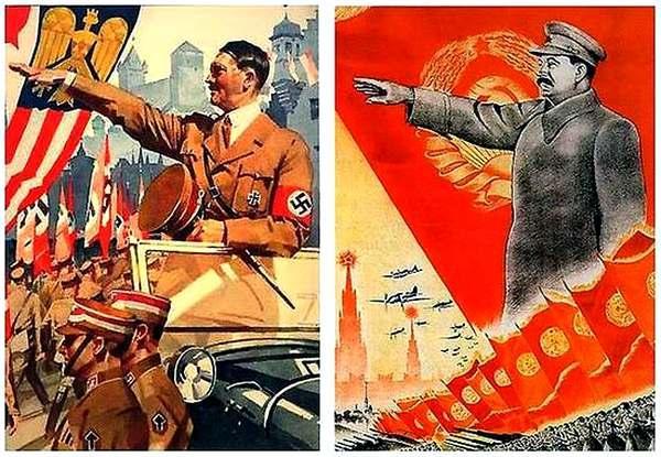 Фото: Гітлер, Сталін і Україна