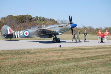 Spitfire Massive Flypast