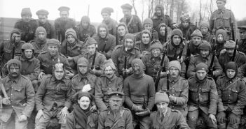 Raiding Party of King's Liverpool Regiment in 1916
